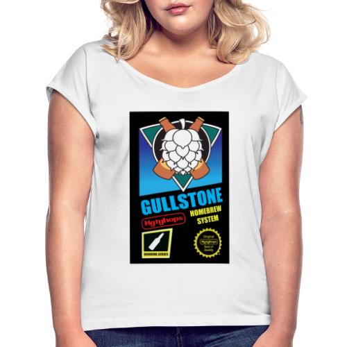 MGTY HOPS GAME - T-shirt med upprullade ärmar dam