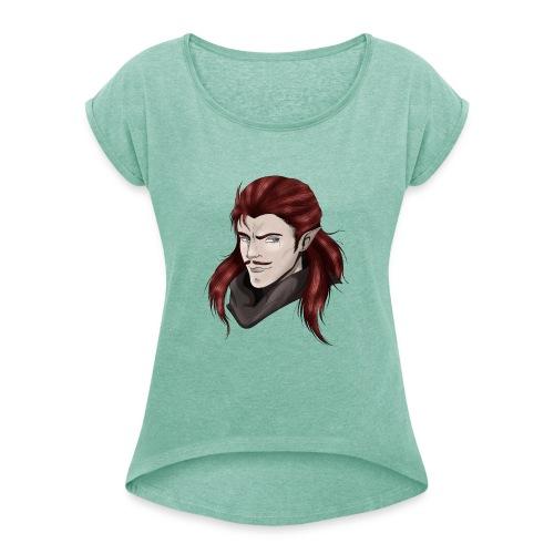 Elf Male - T-shirt à manches retroussées Femme