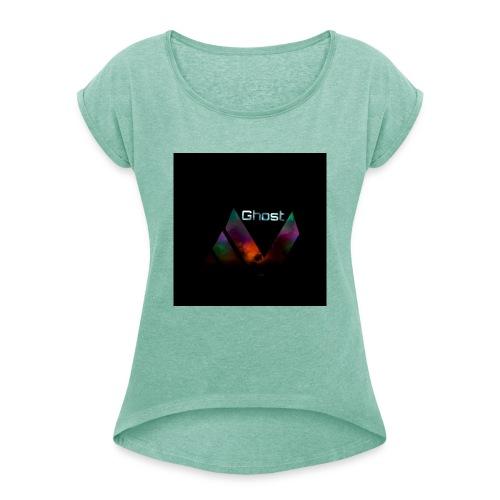 Logopit Game - Frauen T-Shirt mit gerollten Ärmeln