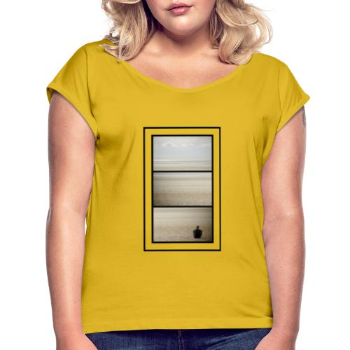 To Whom It May Concern - Women's T-Shirt with rolled up sleeves