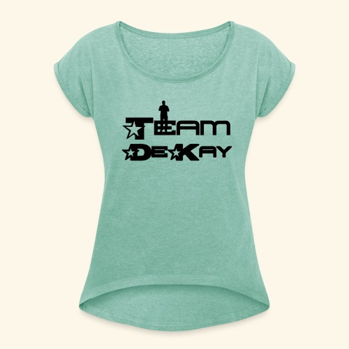 Team_Tim - Women's T-Shirt with rolled up sleeves