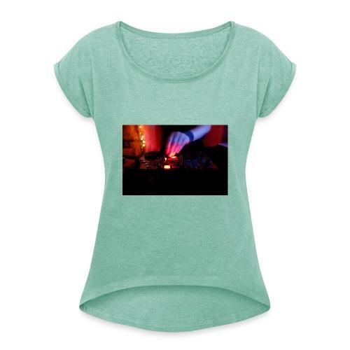 10344187 504647296334272 - Frauen T-Shirt mit gerollten Ärmeln