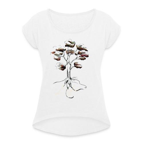 Notre mère Nature - T-shirt à manches retroussées Femme