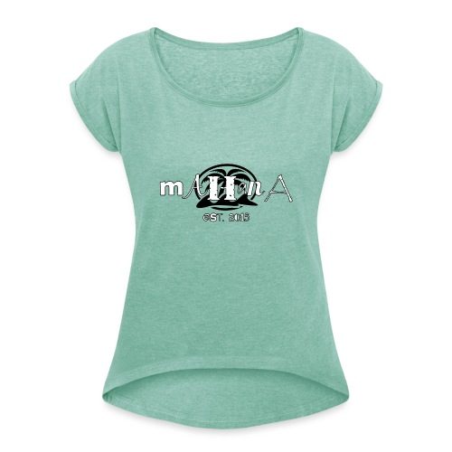 MAHanA irregular - Maglietta da donna con risvolti