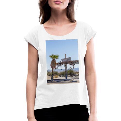 by Mazja Hillestrøm - Dame T-shirt med rulleærmer
