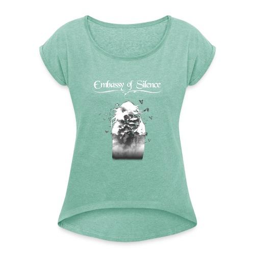 Verisimilitude - Mug - Women's T-Shirt with rolled up sleeves