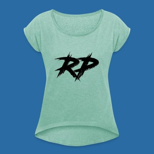 Rudy Palmer - T-skjorte med rulleermer for kvinner