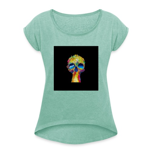 Marcatt - Scull - Women's T-Shirt with rolled up sleeves