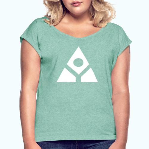 Geometry - Women's T-Shirt with rolled up sleeves