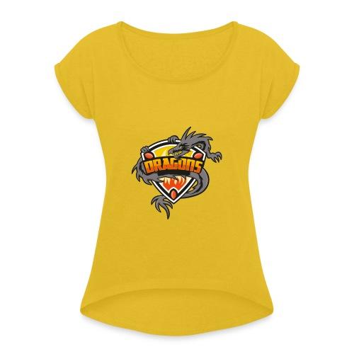 Dragon - T-shirt à manches retroussées Femme