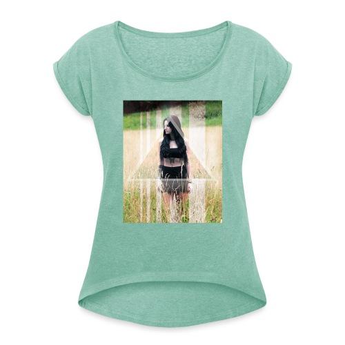 Photography MA - Frauen T-Shirt mit gerollten Ärmeln