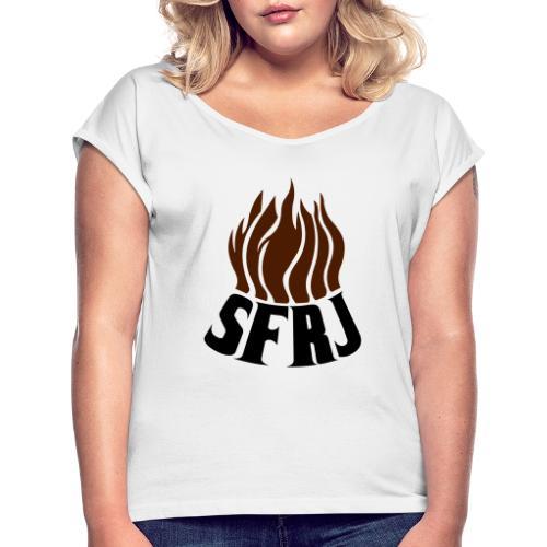 SFRJ - Frauen T-Shirt mit gerollten Ärmeln