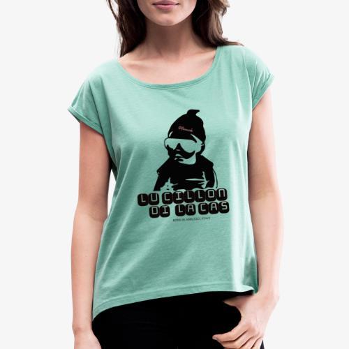 Lu Cillon di la Cas - Maglietta da donna con risvolti