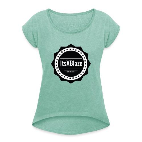 ItsXBlaze Logo 2 Hoodie - Vrouwen T-shirt met opgerolde mouwen
