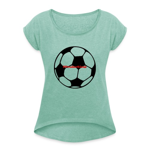 Prospers Productions - Women's T-Shirt with rolled up sleeves