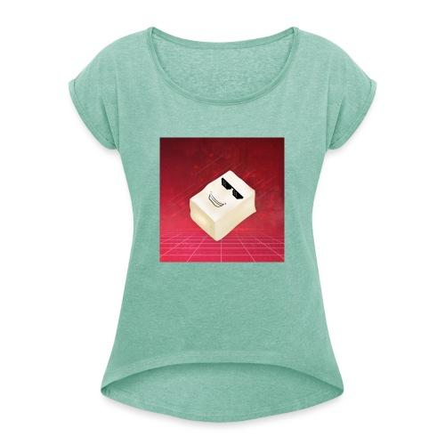 Tfue Logo - T-shirt à manches retroussées Femme