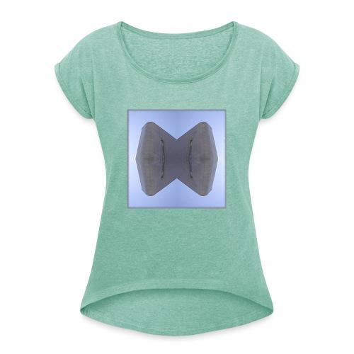 Essen 20.1 - Frauen T-Shirt mit gerollten Ärmeln