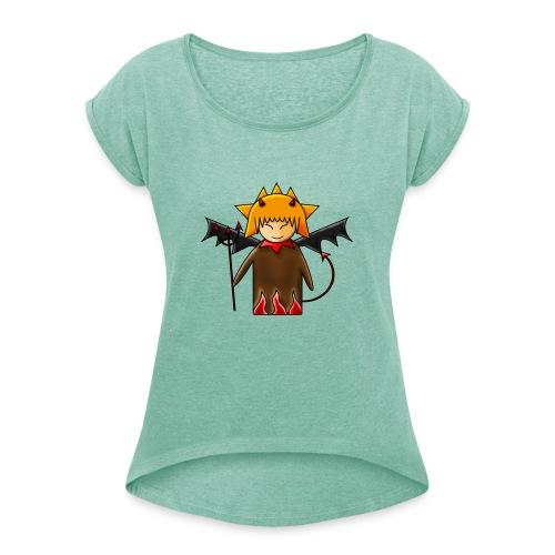 Kokeshi DEMONE - T-shirt à manches retroussées Femme
