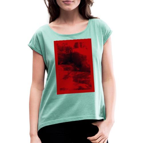 by Majza Hillsetrøm - Dame T-shirt med rulleærmer