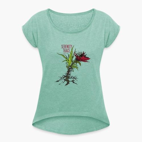 Serenity Trace - Jamais Vu Cover - T-skjorte med rulleermer for kvinner
