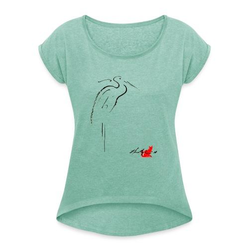 AIRONE - Maglietta da donna con risvolti