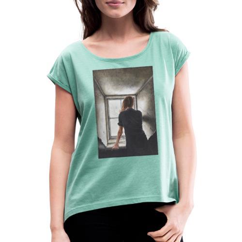 by Maria Torp - Dame T-shirt med rulleærmer