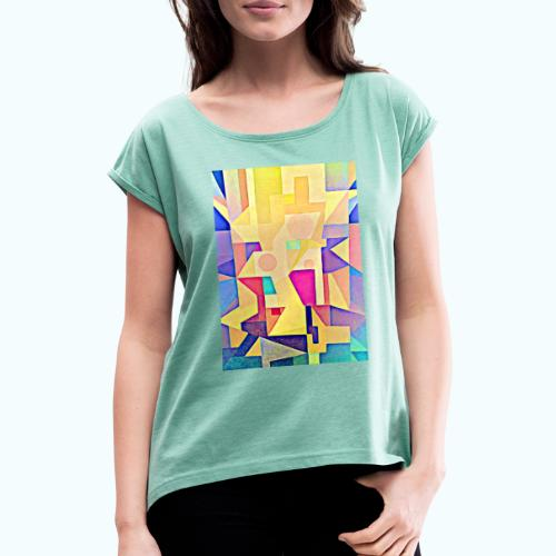 TRINITY - Women's T-Shirt with rolled up sleeves