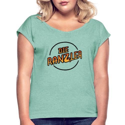 Die Ranzler Merch - Frauen T-Shirt mit gerollten Ärmeln