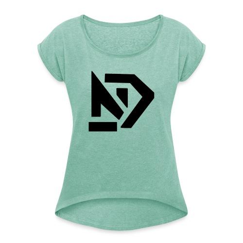 NCY - T-shirt à manches retroussées Femme