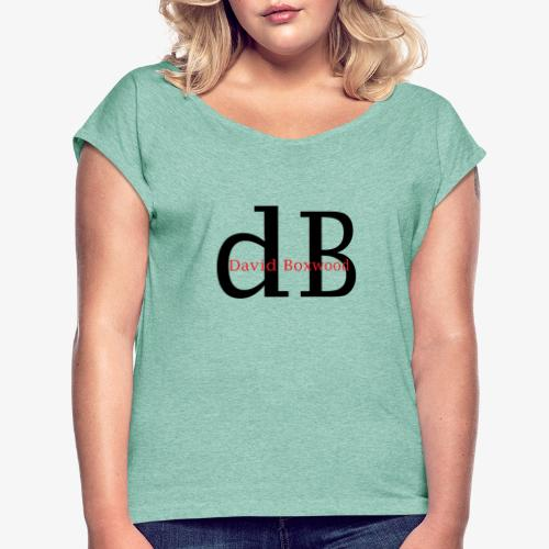 dB - Maglietta da donna con risvolti