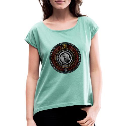 MizAl Blason - T-shirt à manches retroussées Femme