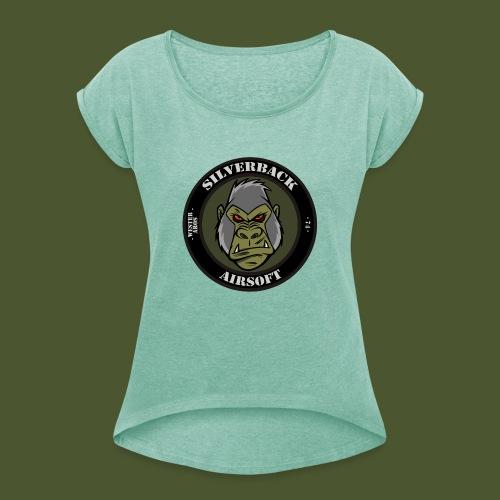 Silverback Airsoft - T-shirt med upprullade ärmar dam