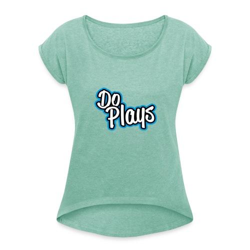 Mannen American Apparel T-Shirt | DoPlays | - Vrouwen T-shirt met opgerolde mouwen