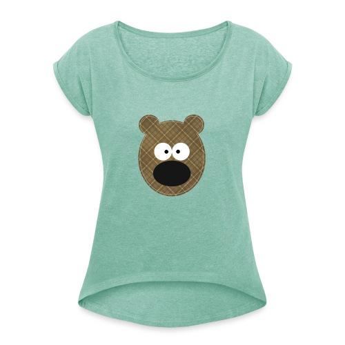 Little Bear - Maglietta da donna con risvolti