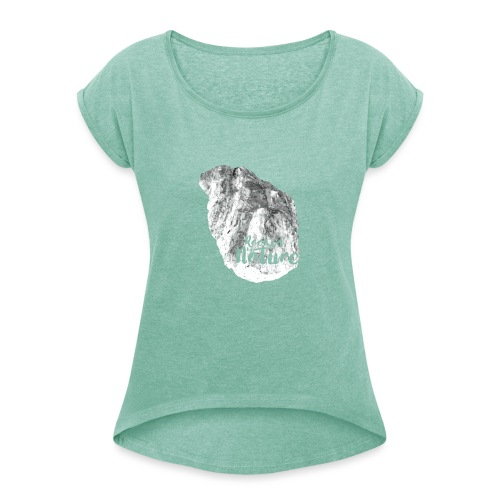 Heart - Rocked by Nature - T-shirt med upprullade ärmar dam