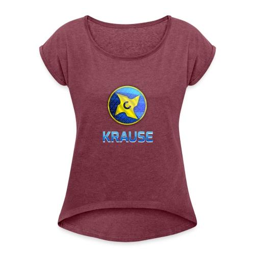 Krause shirt - Dame T-shirt med rulleærmer