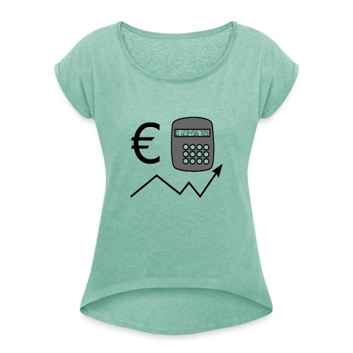 ADMINISTRACAO - Camiseta con manga enrollada mujer