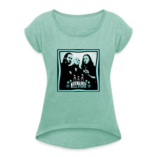Normandy All Stars - T-shirt à manches retroussées Femme