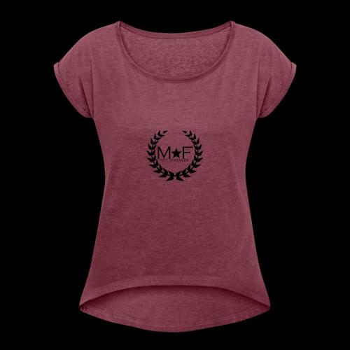 MF - T-shirt à manches retroussées Femme