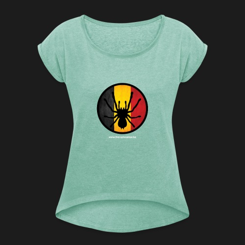 Official - Women's T-Shirt with rolled up sleeves