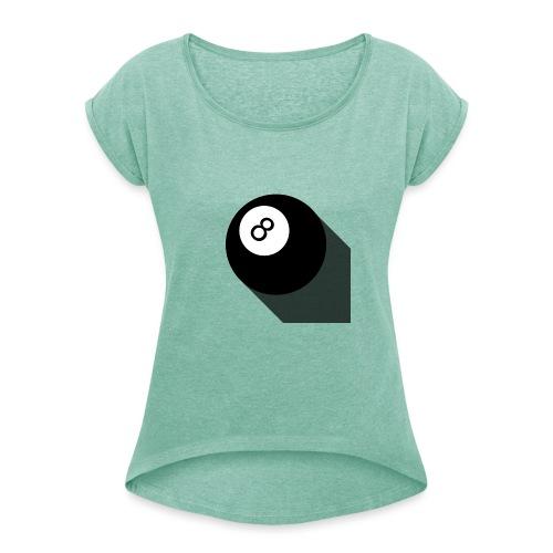 sn8ker - T-shirt à manches retroussées Femme