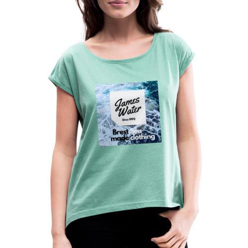 James Water Series I Exclusive - T-shirt à manches retroussées Femme