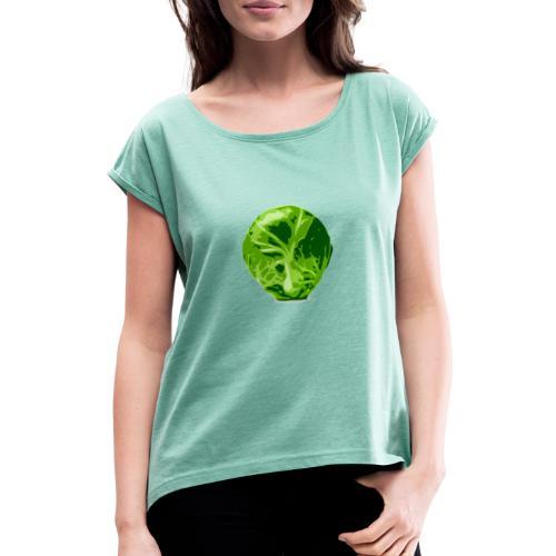 germer - T-shirt à manches retroussées Femme