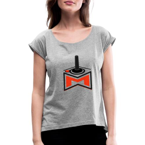 M Wear - M-2600 - Women's T-Shirt with rolled up sleeves