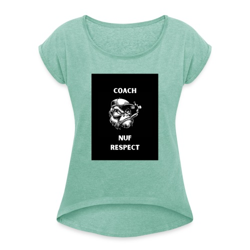 Coach - Women's T-Shirt with rolled up sleeves