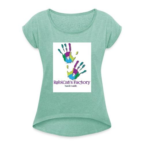 rabicat_mani - Maglietta da donna con risvolti