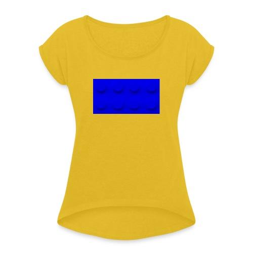 Brick - Vrouwen T-shirt met opgerolde mouwen