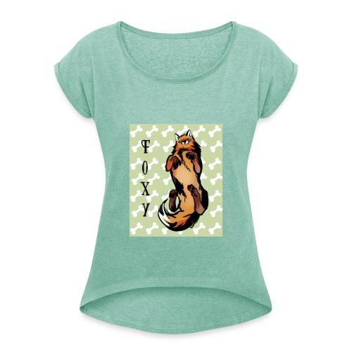 Foxy - T-shirt à manches retroussées Femme