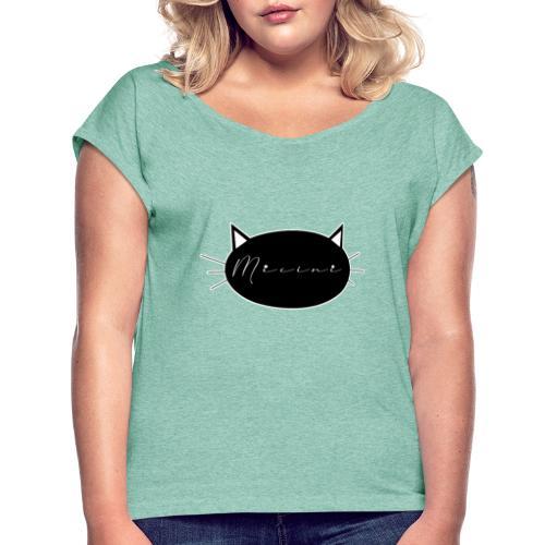 Micini logo - Maglietta da donna con risvolti