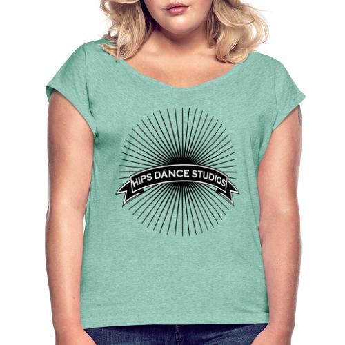SUN - Dame T-shirt med rulleærmer